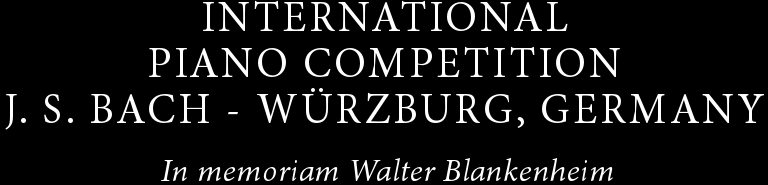"International Piano Competition ""Johann Sebastian Bach"""